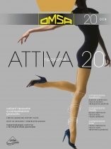 Колготы Omsa Attiva 20den
