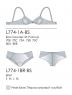 Комплект нижнего белья Luna L774-1A-BS/1BR-BS